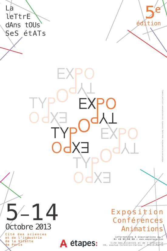 expo typo affiche